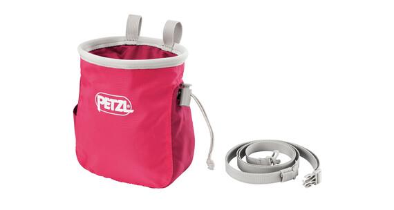 Petzl Saka chalkbag roze